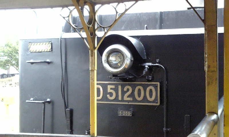 梅小路蒸気機関車館で